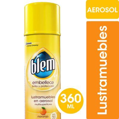Lustramueble aerosol naranja 360 cc
