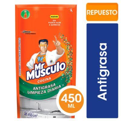 Mr. músculo total cocina doy pack 450 cc