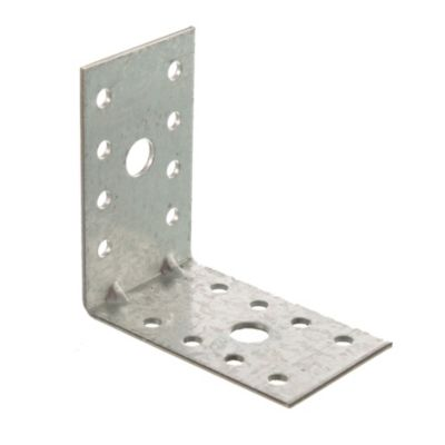 Esquinero ángulo doble 65 mm cromo 6 u