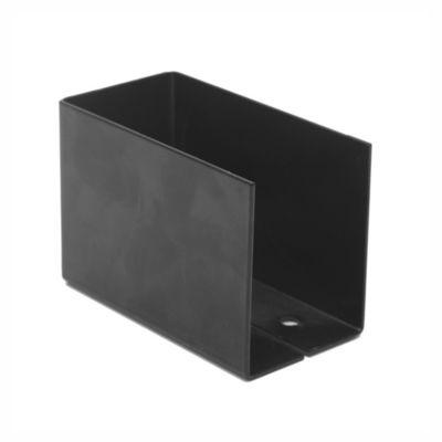 Caja fijación aletas interior sin agujeros 9,5 x 6,5 x 5 cm