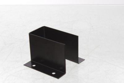 Caja fijación aletas exterior sin agujeros 9,5 x 6,5 x 9,5 cm