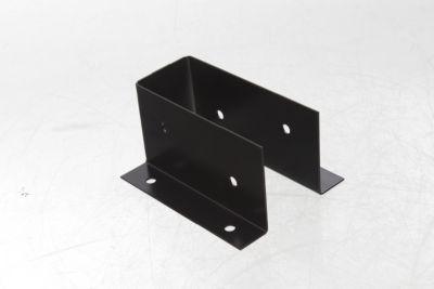 """Caja fijación aleta exterior con aguejero lateral 2"""" x 4"""""""