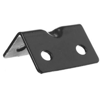Conector ángulo 42 x 30 x 30 mm negro