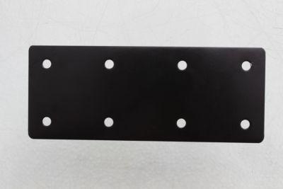 Conector placa unión 93 x 200 x 1 mm negro