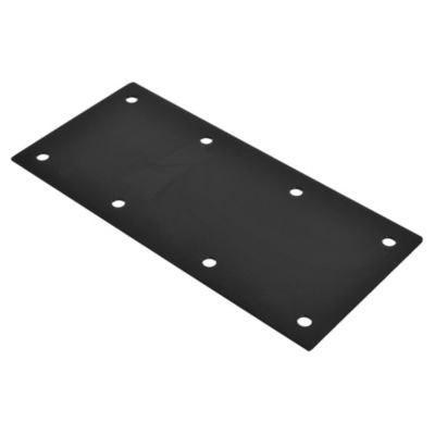 Conector placa unión 117 x 242 x 1 mm negro