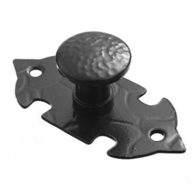 Tirador de hierro argolla negro