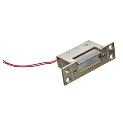Cerradura para portero eléctrico 4 agujeros 12 v reversible pe 1000
