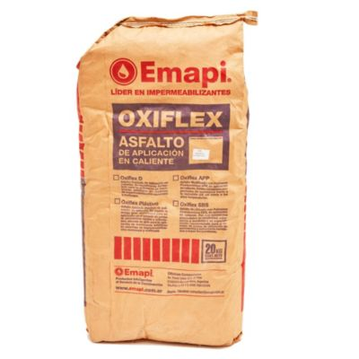 Asfalto en panes oxiflex 20 kg