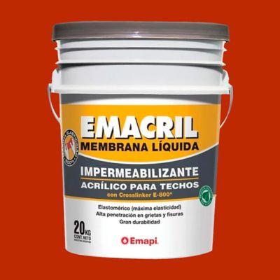 Membrana líquida impermeabilizante para techos teja 20 kg