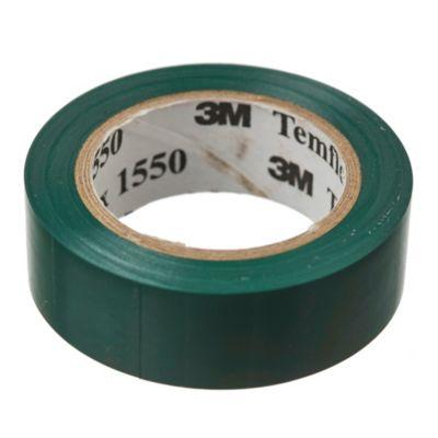 Cinta aisladora Temflex 1550 verde 18 mm x 10m