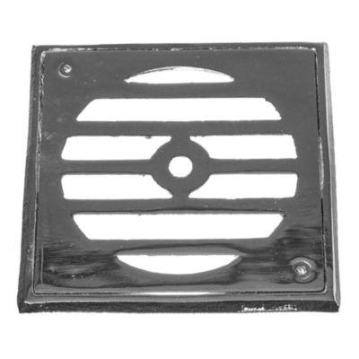 Reja de bronce fundido de 11 x 11 cm caja de pl...