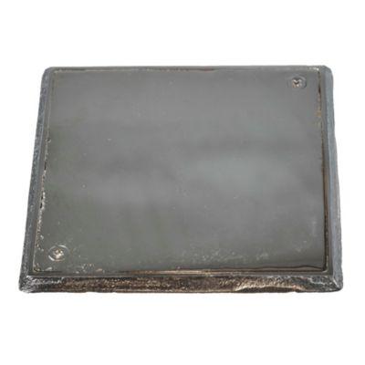Tapa de bronce fundido de 11 x 11 cm con plomo ...