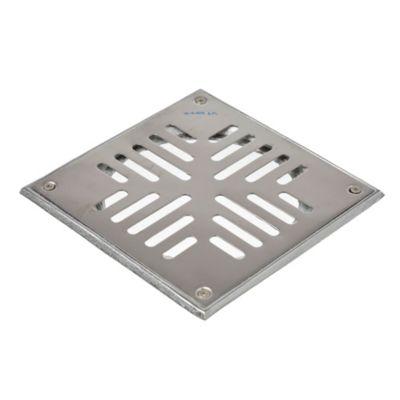 Reja de acero inoxidable de 20 x 20 cm caja de ...