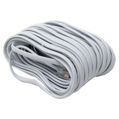 Cable prolongador teléfono blanco 8 m