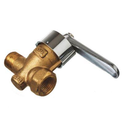 Llave para gas reforzada 1/2 mh