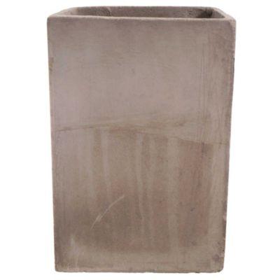 Maceta cemento cubo 20 x 30 cm