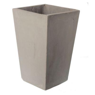 Maceta cubo piramidal 25 x 40 cm