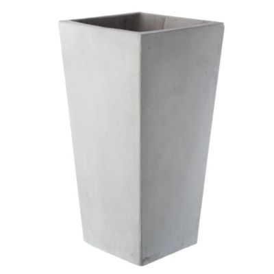 Maceta cubo piramidal 25 x 50 cm