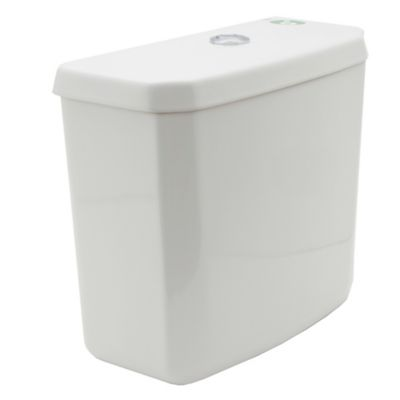 Depósito de inodoro de apoyo Mónaco blanco