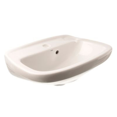 Lavamanos 1 agujero Italiana Capea 49.5 cm blanco
