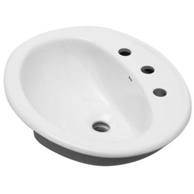 Lavamanos capri 3 agujeros blanco