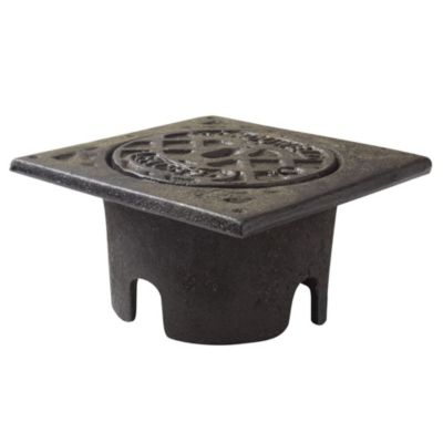 Caja de Inspección de hierro 15 x 15 x 6 cm