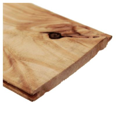 "Machimbre madera de pino 1/2"" x 4"" x 2.44 mts"