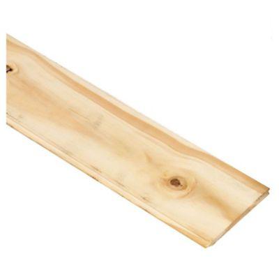 Machimbre madera de pino 1/2 x 4 x 3,66 m