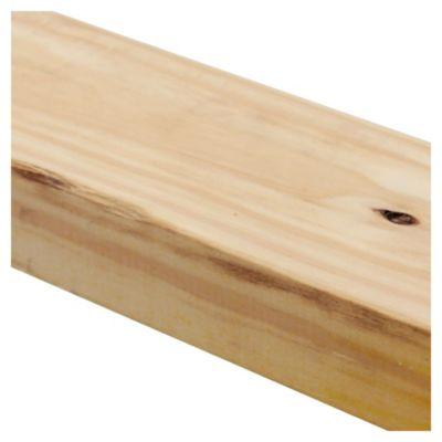 Tirante de madera de pino 2 x 4 x 3.05 mts