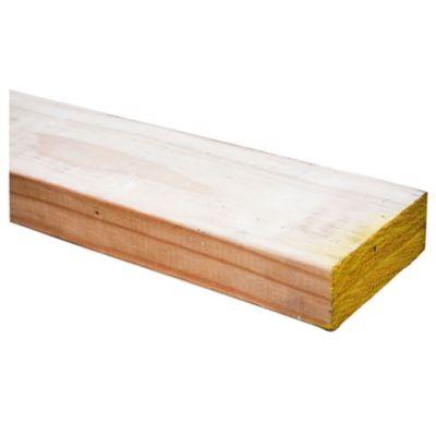 Tirante de madera de pino 2 x 5 x 4.27 mts