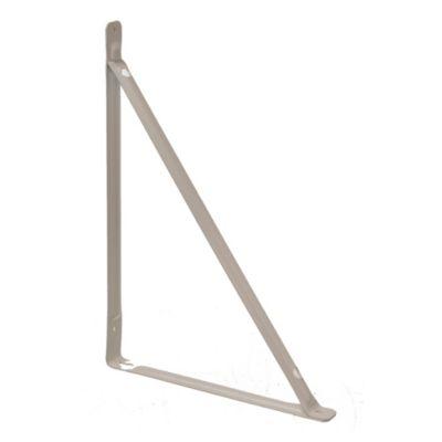 Soporte con travesaño blanco 25 x 35 cm