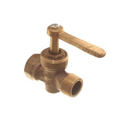 Llave para gas bronce de 1