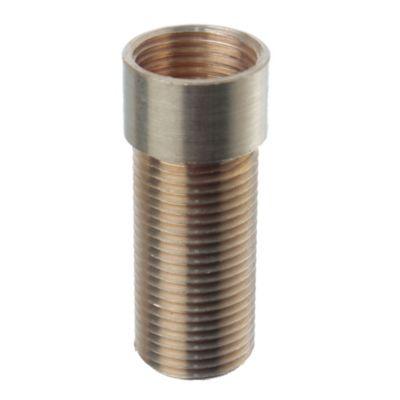 """Prolongación para grifería de mesada 1/2"""" x 42 mm"""
