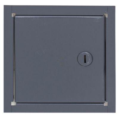 Puerta para llave de agua de chapa 30 x 30 cm