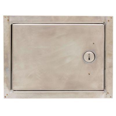 Puerta para llave de agua de acero 15 x 20 cm