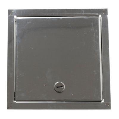 Puerta para llave de agua de acero 20 x 20 cm