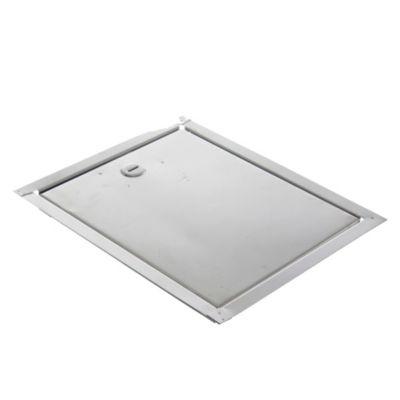 Puerta para llave de agua de acero 20 x 25 cm