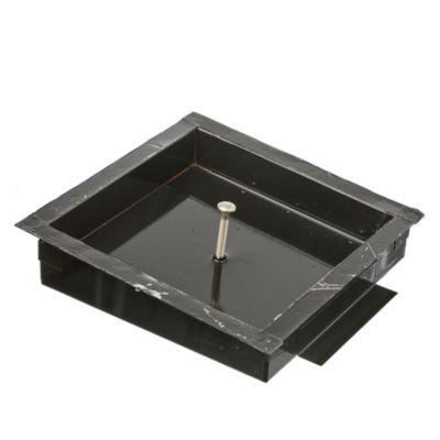 Tapa para cámara de acero inoxidable de 20 x 20 cm