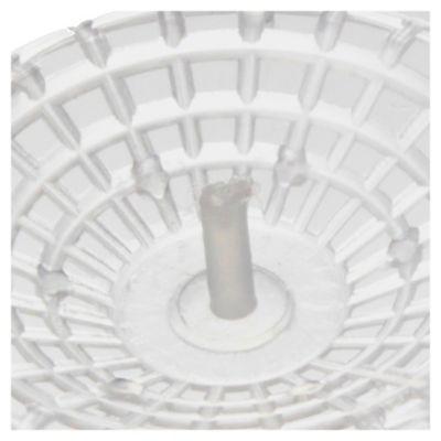 Sopapa plástica con reja de acero inoxidable 1 1/2