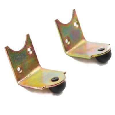 Topes hierro zinc con goma para cortina de enrollar