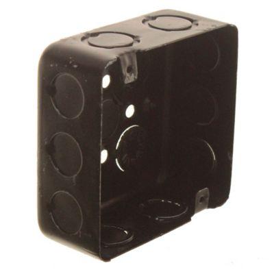 Caja de hierro cuadrada