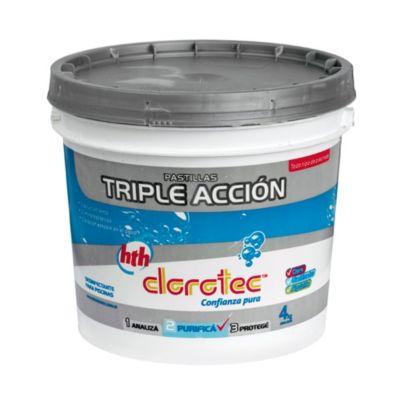 Pastillas triple acción 4 kg