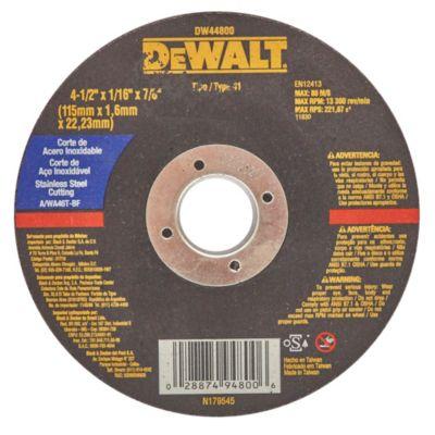 Disco de corte acero inoxidable 115 mm