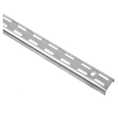Riel para mensula doble aluminio 200 cm