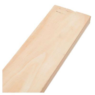 Tabla de madera de pino 1 x 4 x 3.05 mts