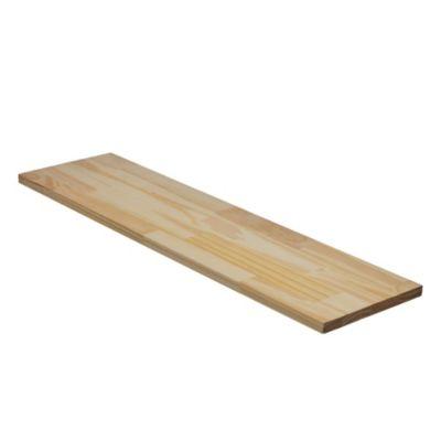 Tablero de pino encolado 240 x 100 cm