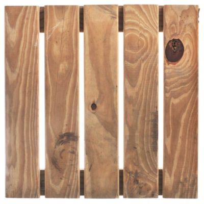 Baldosa para deck impregnado 50 x 50 cm
