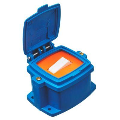 Caja capsulada 1 punto azul