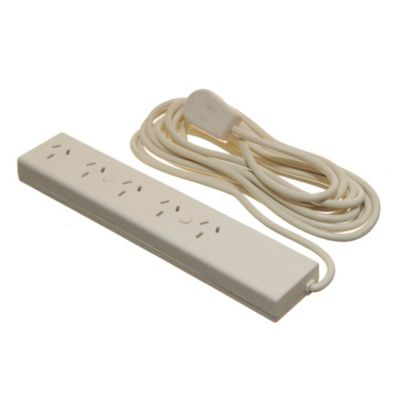 Zapatilla eléctrica 5 tomas con 5 m de cable