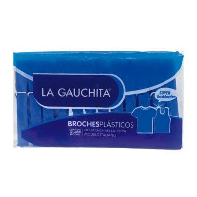 Broches para ropa de plástico modelo italiano 12 u